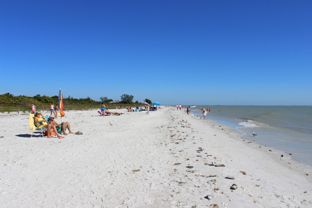 City Beach on Sanibel