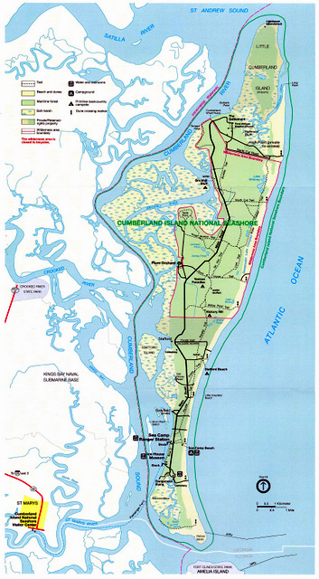 cumberland island national seashore as time goes bye