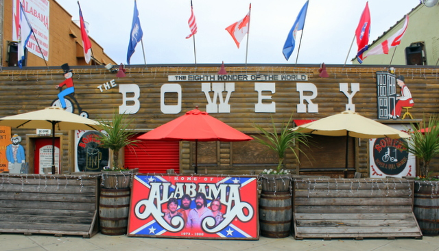 The Bowery is on the boardwalk too. The Country music band Alabama was the bar band here for 7 yrs. before being discovered.
