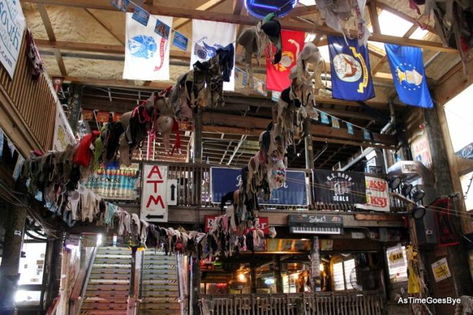 Interior of main bar