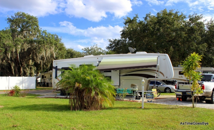 Cypress Cg. & RV Park, Site #97, Winter Haven, FL